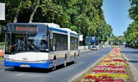Бум на COVID при шофьори в градския транспорт във Варна - 1