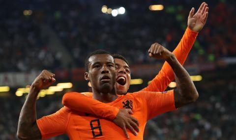 Холандия надви Германия за атрактивен обрат в Хамбург