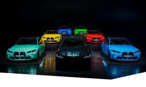 BMW показа палитра от цветове за новите М3 и М4 - 1