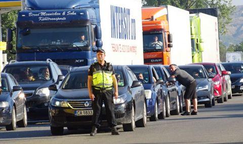 Интензивен трафик към границата с Гърция - 1