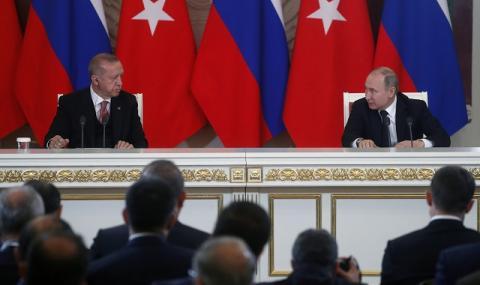 Путин и Ердоган спешно по телефона