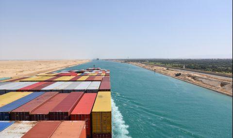Отчетоха рекордни приходи от Суецкия канал