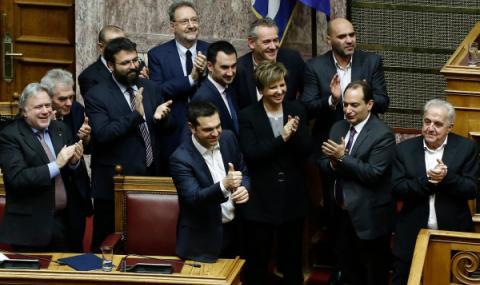 В Гърция готвят вот на недоверие