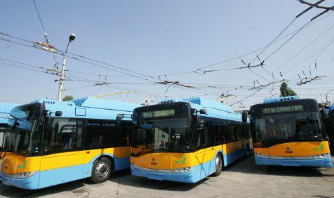Намушкаха младеж в тролейбус в София - 1