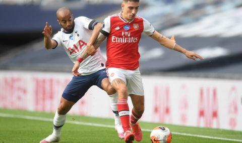 Защитник на Арсенал отива в Бетис под наем - 1