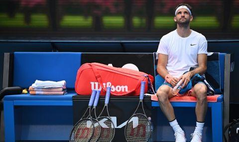 Григор Димитров се завръща на корта в понеделник