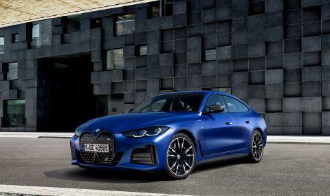 BMW представи първата М Performance електрическа кола - 2