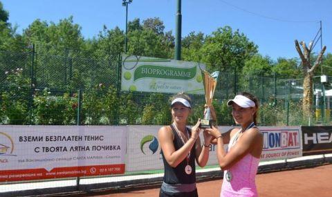 Българки на 1/4-финал на турнир по тенис в Турция
