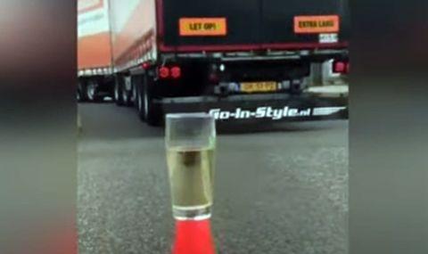 TIR-аджиите са изправени пред ново предизвикателство: Приготвяне на чай с камион (ВИДЕО) - 1