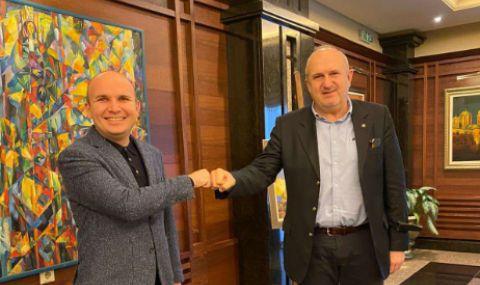 Кючюк и Бучковски единодушни: Стените нямат място между държави съседки - 1