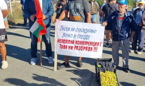 Лозари от Северозапада излизат на протест - 1