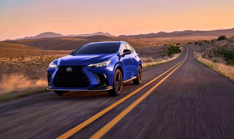 Lexus показа обновения NX с първото за марката plug-in хибридно задвижване - 6
