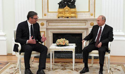 Александър Вучич покани Владимир Путин - 1