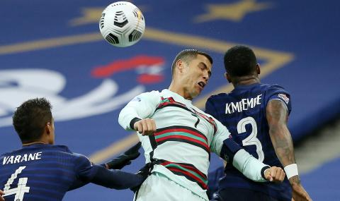 Дидие Дешан доволен от защитата: Успяхме да неутрализираме Роналдо!