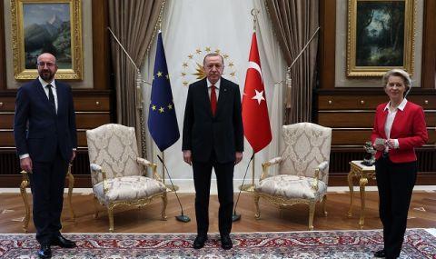 Анкара: Нямаше лош умисъл към Урсула Фон дер Лайен по случая