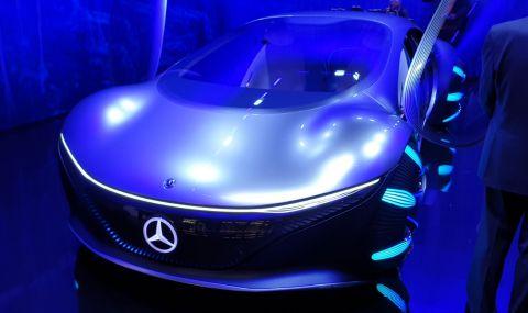 Mercedes AVTR пристига от друга планета и се управлява с мисли - 4