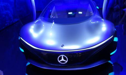Mercedes AVTR пристига от друга планета и се управлява с мисли - 5