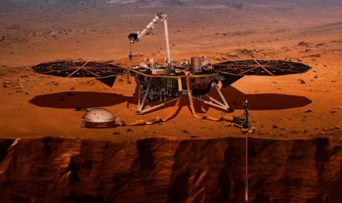 Ето къде ще кацне следващият марсоход
