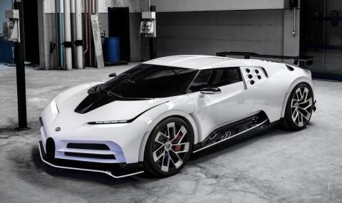 Вижте кое супер лимитирано Bugatti си купи Кристиано Роналдо