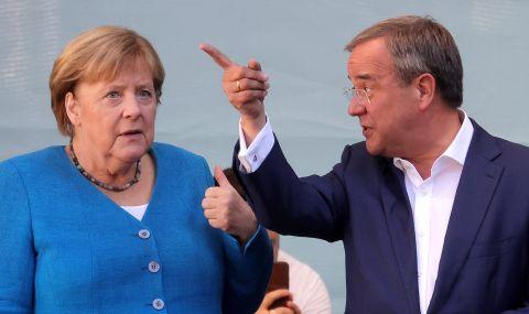 Ангела Меркел подкрепи Армин Лашет - 1
