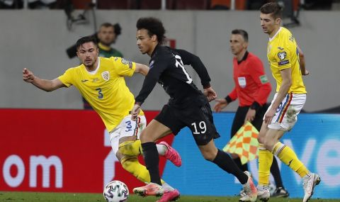 Германия постигна трудна победа над Румъния