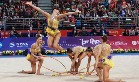 Гимастичките ни спечелиха титлата в многобоя на Световната купа в София