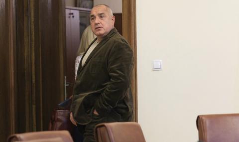 Бойко Борисов на среща с левскарите