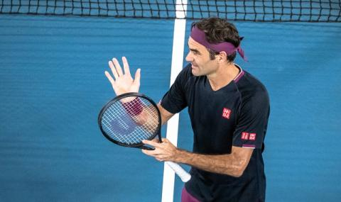 Федерер продължава да гази в Австралия