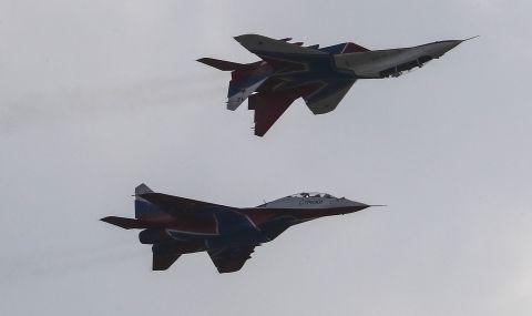 Руски изтребител пресрещна американски самолет