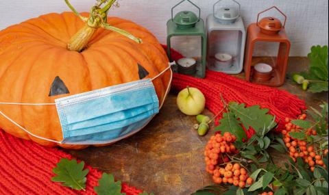 Вдъхновение за Хелоуин от COVID-19 (СНИМКИ)