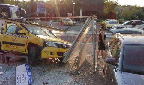 Пияна и дрогирана шофьорка направи големи поразии в центъра на Слънчев бряг