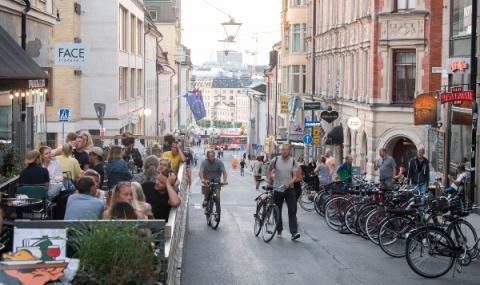 Швеция се отказва от парите