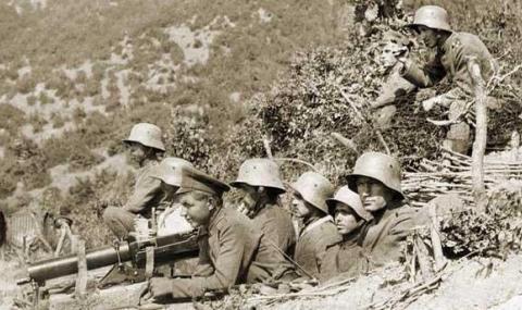 14 октомври 1915 г. България влиза в Първата световна война
