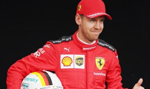 Фетел подписа договор с тим от Формула 1