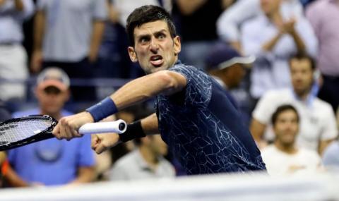 Световният №1 в мъжкия тенис демонстрира тенис с тиган (ВИДЕО)