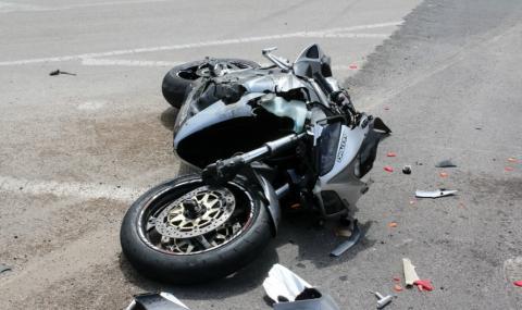 "Мотоциклетист загина на магистрала ""Тракия"""