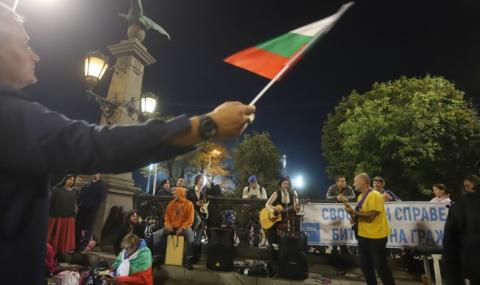 Спокойно преминава 35-ият ден на антиправителствени протести в столицата