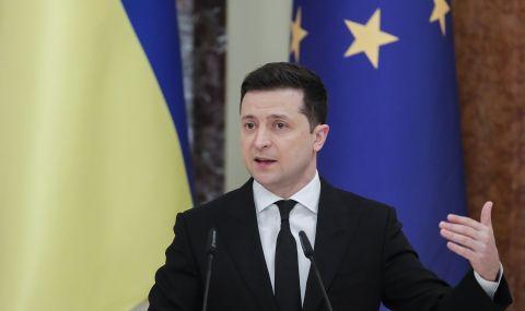 Зеленски първи по доверие в Украйна