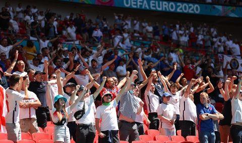 Английски фенове освиркаха своите преди мача с Хърватия