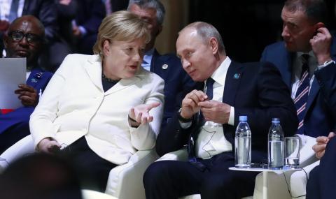 Путин обсъди Украйна с Меркел и Макрон