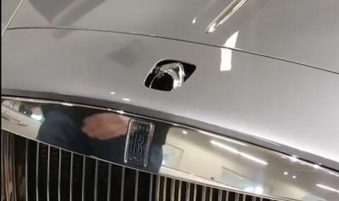 Всъщност, може да откраднете емблемата на Rolls Royce (ВИДЕО) - 1