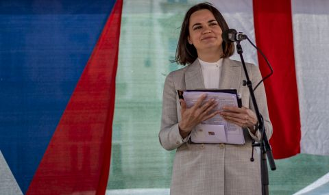 Чехия призна Светлана Тихановска за държавен глава