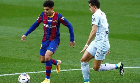 Барселона ще спести 5 милиона евро, ако забие Коутиньо на пейката - 1