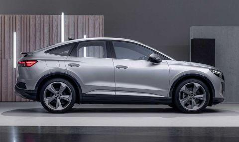 Audi представи електрическото Q4 с различен дизайн и нова платформа - 6