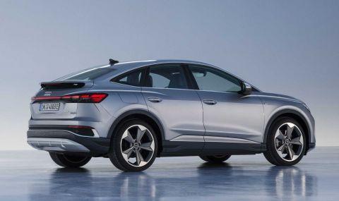 Audi представи електрическото Q4 с различен дизайн и нова платформа - 5