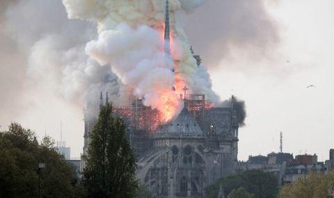 Завърши укрепването на конструкцията на парижката катедралата Нотр Дам - 1