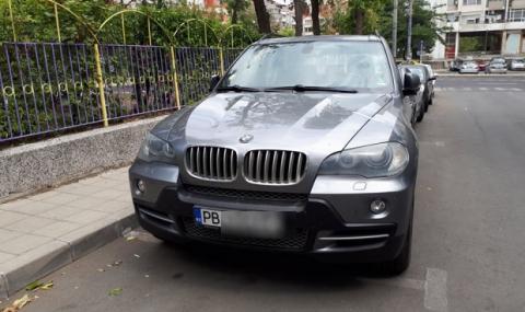 Автомобилът на тримата задържани покрай Арабаджиеви