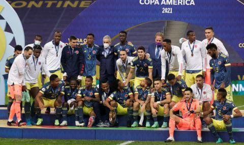 Колумбия победи Перу и взе бронзовите медали на Копа Америка