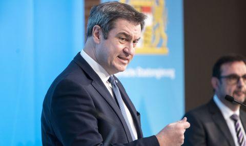 Премиерът на Бавария фаворит за следващ канцлер