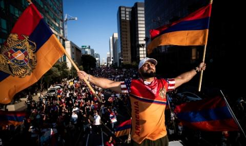 Армения и Азербайджан с ново примирие